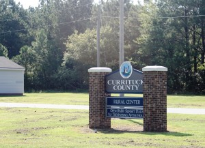 Currituck County sign