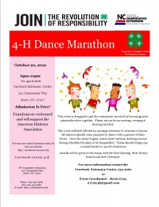 Cover photo for 4-H Dance Marathon