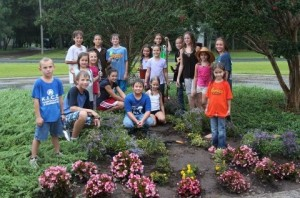 Cover photo for 4-H Club Plants a Garden