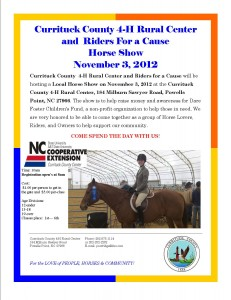 Cover photo for Horse Show at the Currituck 4-H Rural Center