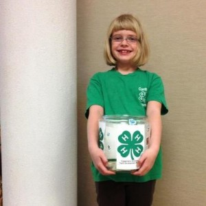 Cover photo for Local 4-H'er to be Commended for Service