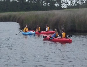 Cover photo for Kayaking Camp at the Rural Center