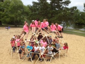 Cover photo for Currituck 4-H Camp Mesowannago Highlights Science
