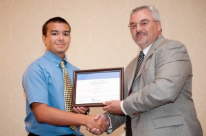 Cover photo for Currituck County 4-H'er wins award at State Electric Congress