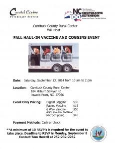 Vaccine Clinic Sept 2014