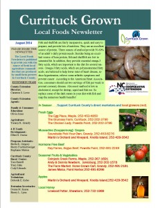 Cover photo for Local Foods Newsletter