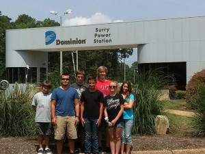 Cover photo for Currituck Youth Visit Power Plant