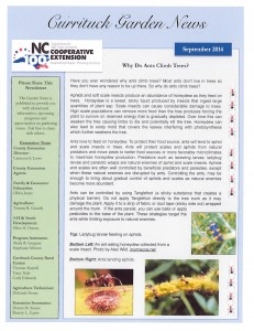 """Cover photo for Check out the latest edition of the """"Garden News"""""""