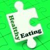puzzle piece healthy eating