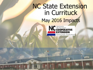 Cover photo for Impacts-May 2016