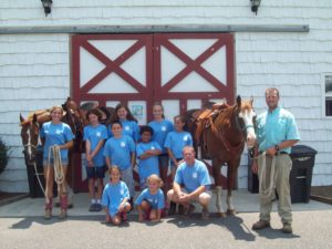 Cover photo for Happy Trails Spring Break Horse Camp