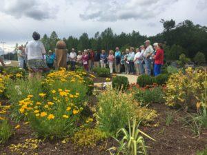 garden dedication event