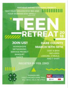 Cover photo for 2018 Northeast District Teen Retreat
