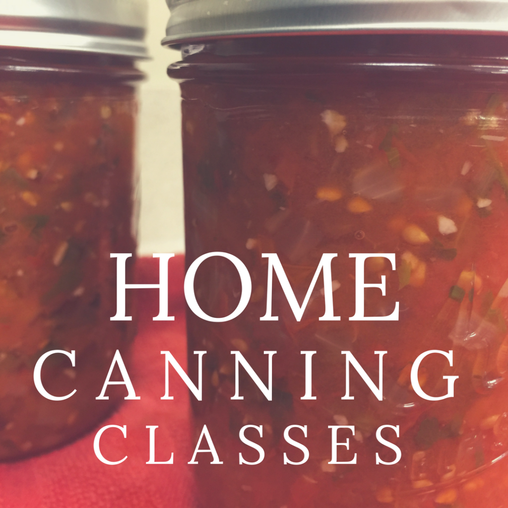 home canning classes