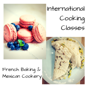 Cover photo for International Cooking Classes