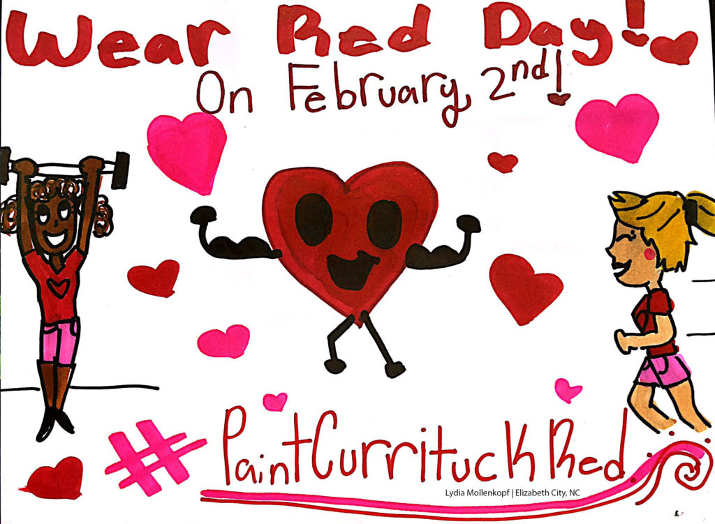 Wear Red Day poster