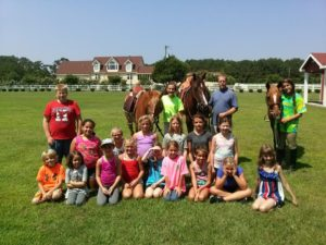 Cover photo for Happy Trails Summer Horse Camps
