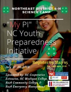 NED Science Camp Flyer