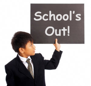 School's Out logo image