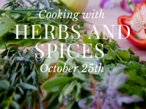 Cover photo for Add Flavor With Herbs and Spices