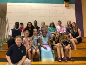 4-H public speaking group