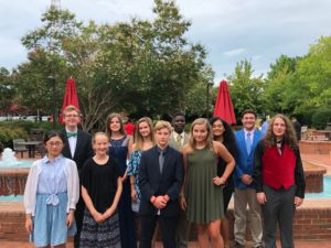 Image of Currituck County 4-H participants