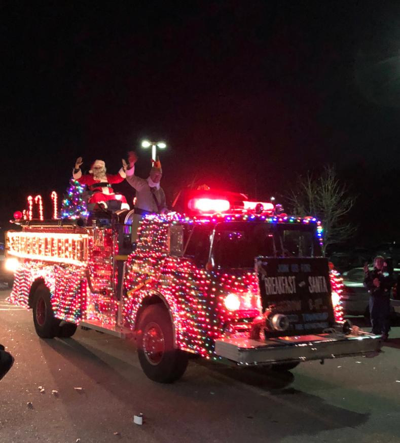 Image of holiday parade