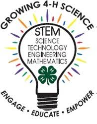 Cover photo for 4-H Programs-Empowering Young People to Lead for a Lifetime Science, Technology, Engineering, and Math