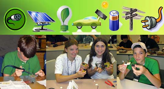 4-H Electric program banner