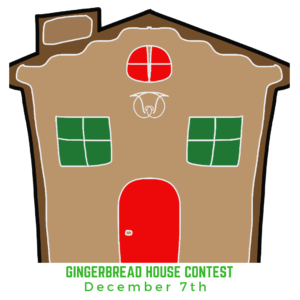 Gingerbread House Contest flyer image