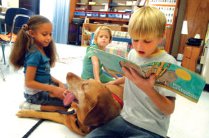 Image of kids reading