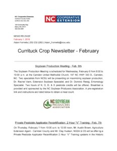 pic of crop newsletter