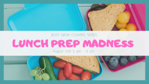 Cover photo for Busy Moms Cooking Series