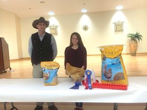 Winners of Poultry Show