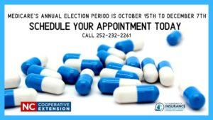 Medicare open enrollment flyer