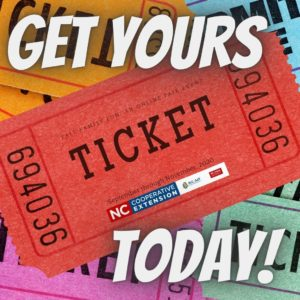 "tickets with words "" Get Yours Today"""
