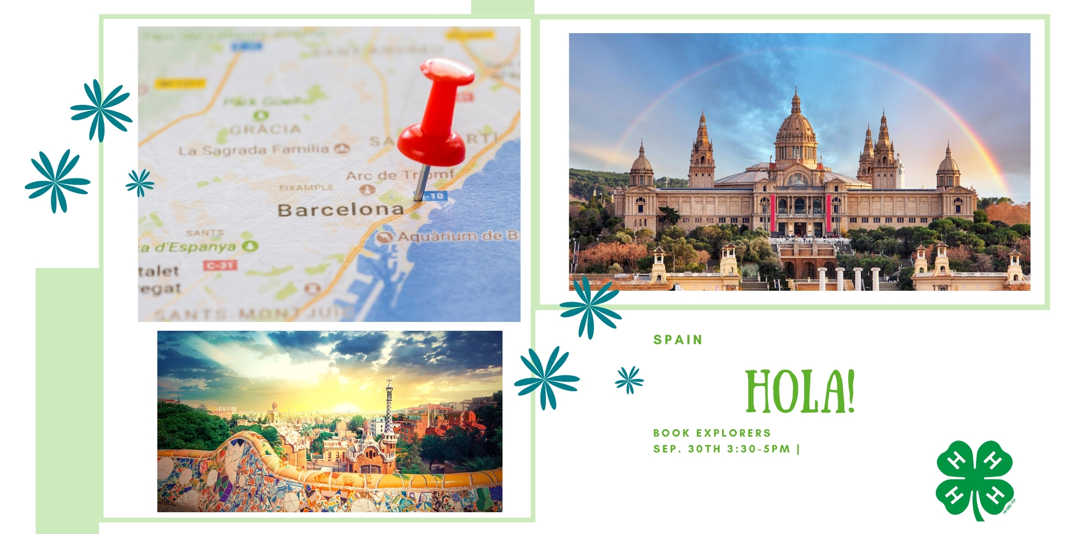 post card about Spain