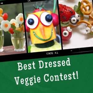best dressed veggie contest