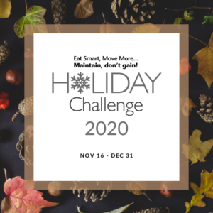 Holiday Challenge Flyer