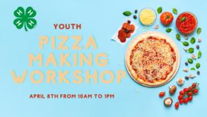 pizza making workshop flyer