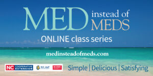 """Cover photo for Learn to Eat the """"Med Way"""" With Our Virtual Med Instead of Meds Class"""