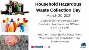 Flyer advertising Household Hazardous Waste Disposal Day