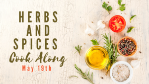 Cover photo for Herbs and Spices Cook Along