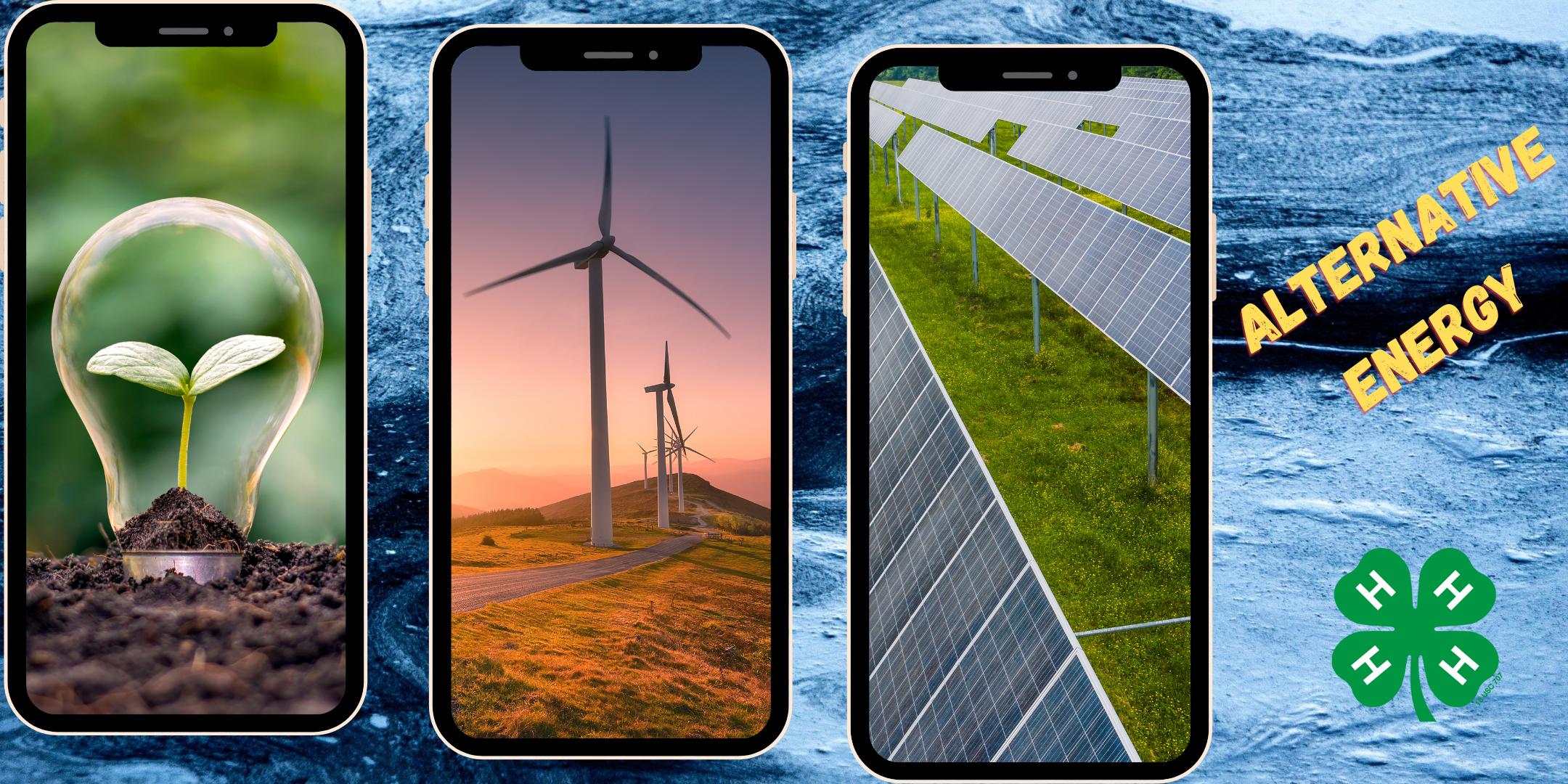 alternative energy windmills